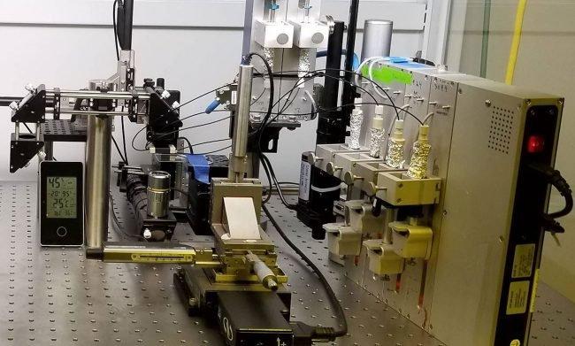 Биопринтер фирмы Precise Bio, на котором и была создана искусственная роговица